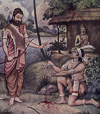 Ekalavya's_Guru_Dakshina