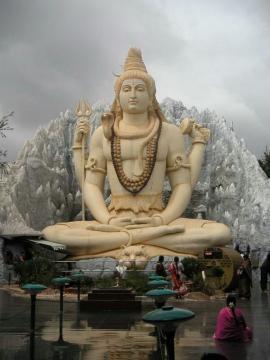 Siva-meditating