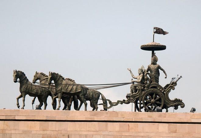 arjunas-chariot-mahabharata